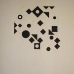 Vasarely, gravure sur papier